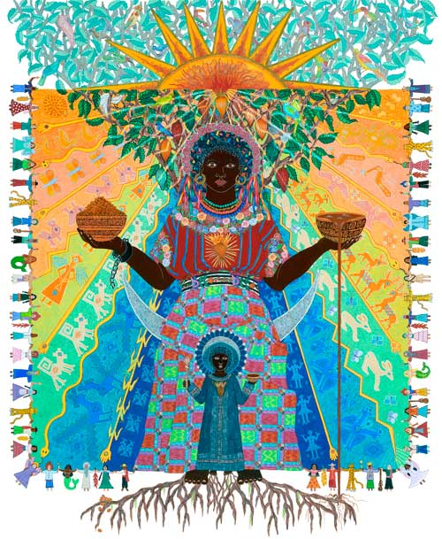 Black Madonna Of Cacao